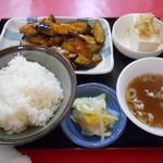 20071940 - なすみそ炒め定食
