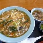 マルヨ食堂 - 中華丼500円