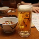 あっぱれいなせ家 - 生ビール