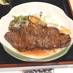 江戸幸 - 日替わりランチ ステーキ 750円