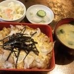 洋食 キムラヤ - 親子丼ランチ