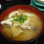 沼津 魚がし鮨 - あら汁