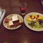 トマト&オニオン - 「スクランブルエッグセット」399円