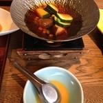 Sakanarobataumiza - 旬野菜とトウモロコシの柳川鍋