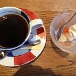 Sakanarobataumiza - デザートとコーヒー
