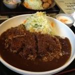 20081470 - カツカレー800円。デカイ!