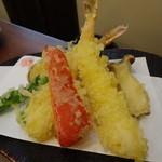 蕎麦切りmasa - 天ぷら