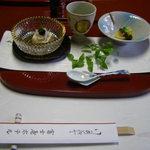 20083127 - 日帰り入浴コースの料理