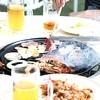 ニューウェルサンピア沼津 - 料理写真:バーベキューセット、生ビールで乾杯