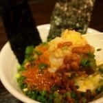 札幌 Fuji屋 - 特製納豆ご飯