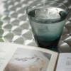 Sghr cafe - ドリンク写真:スガハラガラスさんのグラスでお水のサービス