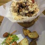 20096079 - ピリ辛でおいしいヨーグルトソースのケバブランチ