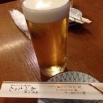 あべちゃん - 生ビール(中)520円
