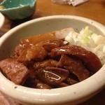 あべちゃん - 牛もつ煮込み450円