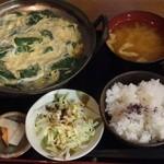 金太郎 - 常夜鍋定食¥500