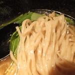 三代目 白兵衛 - コシのある、平打ち中太麺です