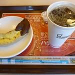 ミスタードーナツ - 今日はこれ! アイスコーヒーにチョコバナナファッション