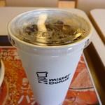ミスタードーナツ - アイスコーヒー