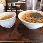 二代目えん寺 - ベジポタ辛つけ麺850円大盛無料激辛