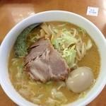 20100559 - 味噌ラーメン+味玉