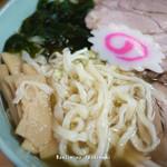佐野手打ちラーメン 永華 - 手打ち麺・アップ