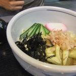 起進堂 - 2013/07 揚げ茄子蕎麦