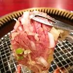 炭火焼肉 一心 - タン芯が分厚い(≧∇≦)