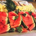 神戸ポートキッチン - フルーツ盛りあわせ。