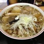麺工房善 - 飛魚チャーシュー