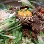 韓国家庭料理 チェゴヤ - サラダプルコギ丼 800円
