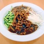 楽口福 - セットのジャジャ麺。