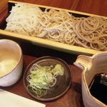 生そば 槐 - 料理写真:三色盛り