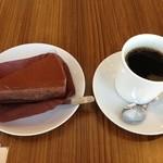 102Cafe - ケーキセット@650円