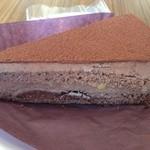 102Cafe - 日替わりのチョコレートケーキ 単品だと450円