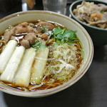 中井麺宿 - 鴨南蛮そば 580円