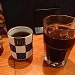 黒豚庵 - セットのコーヒー