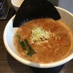 ぶっこ麺らーめん - 濃厚なつけ汁、最後はスープ割りに