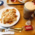 20117173 - モッフル(キャラメル)、ふわふわミルクコーヒー