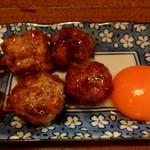 焼鳥 Cocco - 料理写真:名古屋コーチン つくねと卵黄 600円