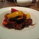 20118569 - 豚ヒレ肉の甘辛炒め