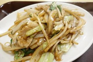 神楽坂飯店 - 肉野菜炒め定食