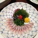 Sakanaryourisemmontotoichi - 鰻のお刺身