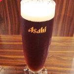 AFURI - 生ビール、琥珀の時間(とき)。