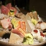 お寿司と焼鳥きっちん 祐星 - 鮮魚造り盛り合わせ(500円)×3人前