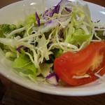洋食 ふじい - 野菜サラダ