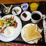 鳴沢ロッヂ - 料理写真:朝食