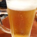 ホルモン屋 だん - 生ビール/2013年7月来店