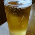 香楽 - まずはビールで乾杯!