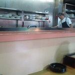 ラーメン天平 - 厨房