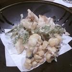 酒ありき肴与一  - 天ぷら この日は、鱧と夏野菜。